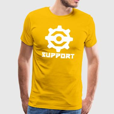 Support - Herre premium T-shirt