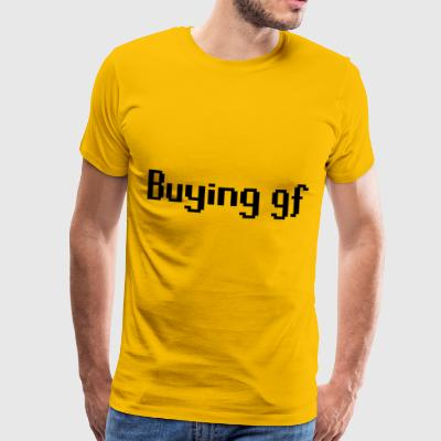 Buying gf - Premium T-skjorte for menn