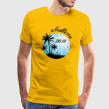 Mallorca 2018 JGA Bachelor Party Shirt - Men's Premium T-Shirt