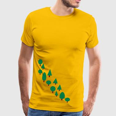 line of trees - Men's Premium T-Shirt