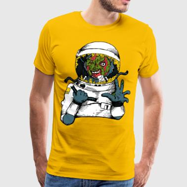 Space virus - Mannen Premium T-shirt