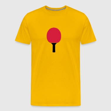 raquette pingpong tennis table racket - T-shirt Premium Homme