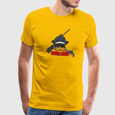 Hunter duck quack - Men's Premium T-Shirt