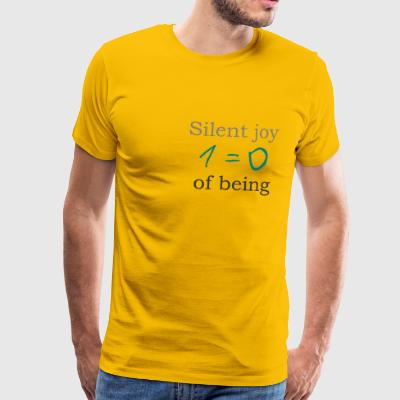 Silent joy of being 105 - Men's Premium T-Shirt