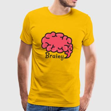 Brainy - Men's Premium T-Shirt