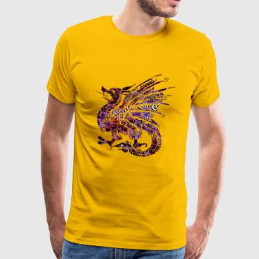 Dragon shirt for kids, teens and students - Men's Premium T-Shirt