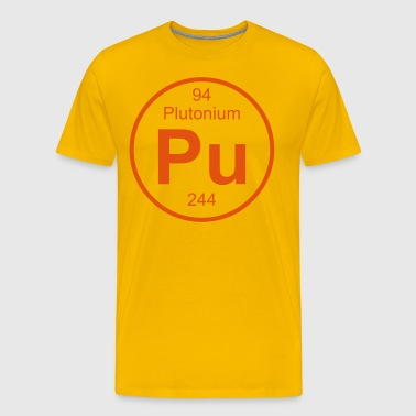 Element 94 - pu (plutonium) - Full (round) - T-shirt Premium Homme