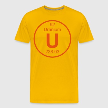 Uranium (U) (element 92) - Men's Premium T-Shirt