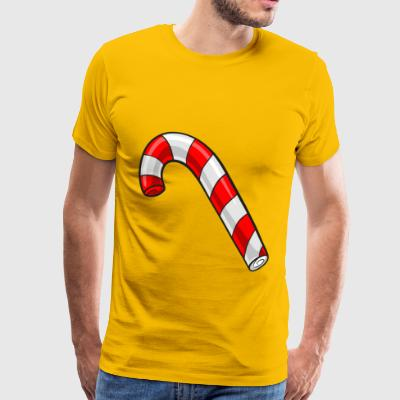 Christmas candy cane - Men's Premium T-Shirt