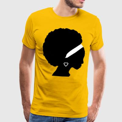 African Girl - Men's Premium T-Shirt