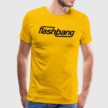 Flash Bang Single - Uten Donation - Premium T-skjorte for menn