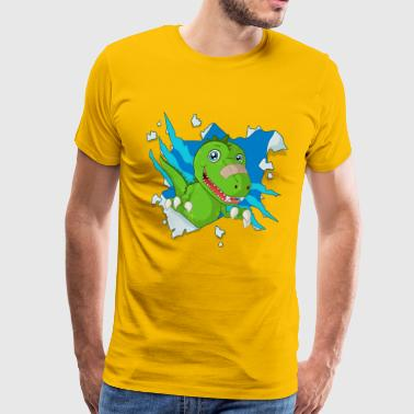 Sweet dinosaur - Men's Premium T-Shirt