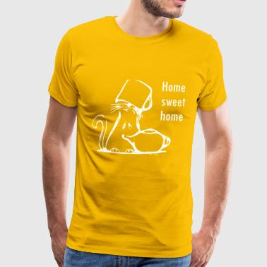 Maison Sweet Home Cat A - T-shirt Premium Homme