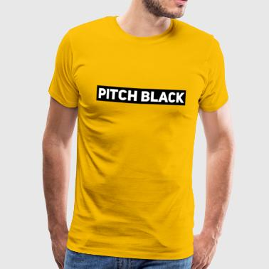Pitch Black - Men's Premium T-Shirt