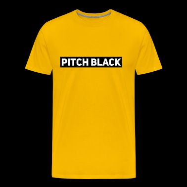Pitch Black - Männer Premium T-Shirt