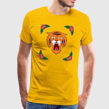 tiger! tiger! - Premium T-skjorte for menn