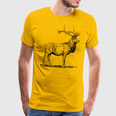 Proud stag - Men's Premium T-Shirt