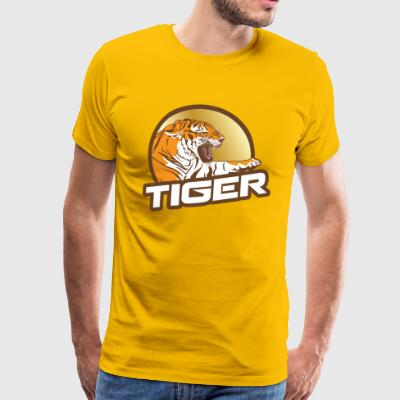 Tiger gift idea Birthday Christmas T-shirt - Men's Premium T-Shirt