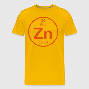 Zinc (Zn) (element 30) - Men's Premium T-Shirt