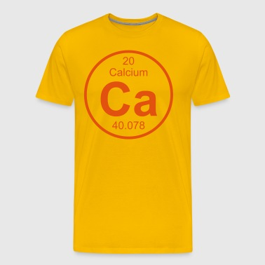 Element 20 - ca (calcium) - Full (round) - Camiseta premium hombre