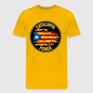 catalunya power 03 - T-shirt Premium Homme