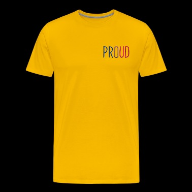 Proud Bisexual - Men's Premium T-Shirt