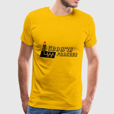 Growth Fracker - Men's Premium T-Shirt