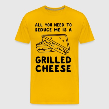 All you need to seduce me is grilled cheese - Men's Premium T-Shirt