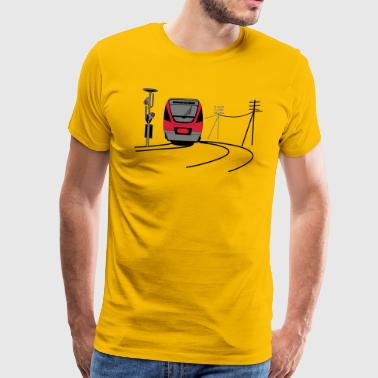 bahn - Men's Premium T-Shirt
