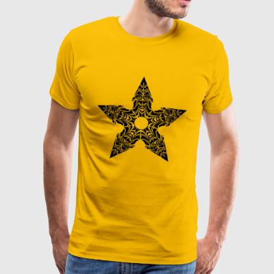 Ninja Star Stylized - Men's Premium T-Shirt