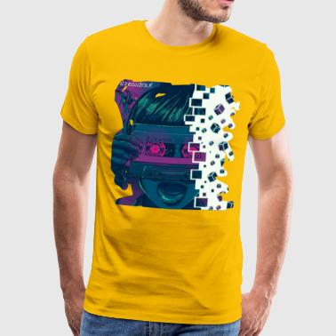 Awesome MiX (#scheissdrauf) - Mannen Premium T-shirt