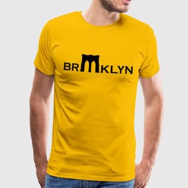 Brooklyn bridge - Mannen Premium T-shirt
