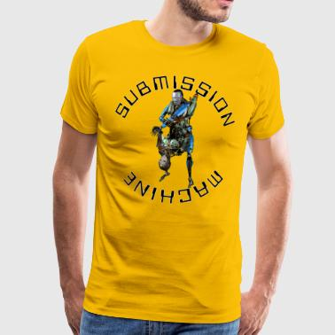 SUBMISSION MACHINE FLYING TRIANGLE - Men's Premium T-Shirt