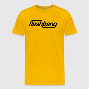 Flash Bang Single - 50kr Donatie - Mannen Premium T-shirt
