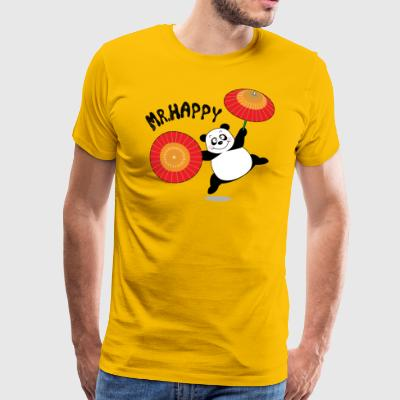JLB Mr Happy 07082017 1 - Männer Premium T-Shirt