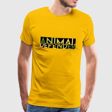 ANIMAL DEFENDER MELT green - Men's Premium T-Shirt