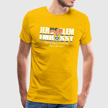 US Embassy in Jerusalem - Men's Premium T-Shirt