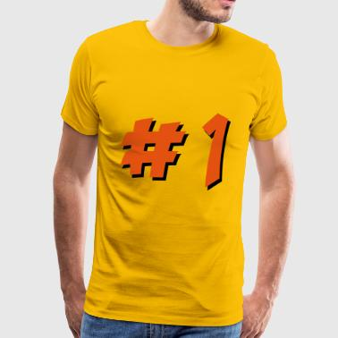 2541614 15579971 number 1 - Men's Premium T-Shirt