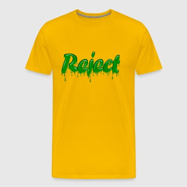 Green Gloop Reject - Men's Premium T-Shirt