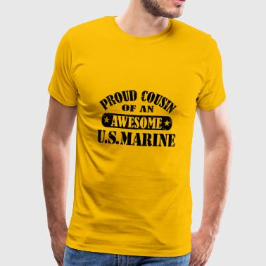 proud cousin - Men's Premium T-Shirt