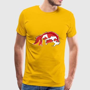 Tee shirts tang commander en ligne spreadshirt for Peluche carpe koi