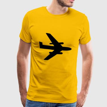 Tarpaulin Airplane Aircraft Jet - Men's Premium T-Shirt
