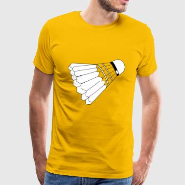 badminton Transport - Herre premium T-shirt