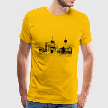 Wesel Berliner Tor - Men's Premium T-Shirt