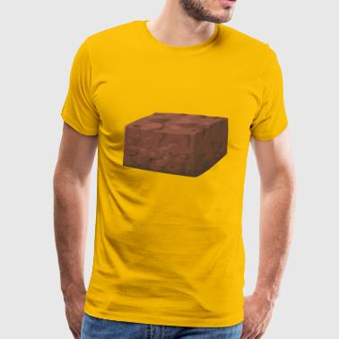 Brownie - Premium T-skjorte for menn