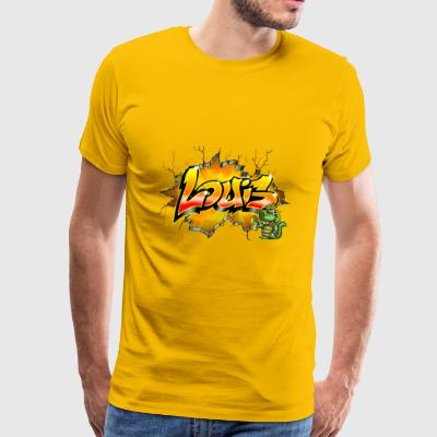 Louis Graffiti - Herre premium T-shirt