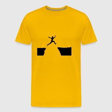 high jump jumping jump jump ballerina26 - Men's Premium T-Shirt