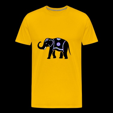 Elephant - Africa - Men's Premium T-Shirt