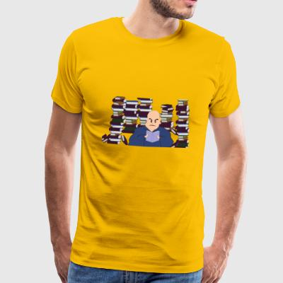 books reader reading books reading176 - Men's Premium T-Shirt