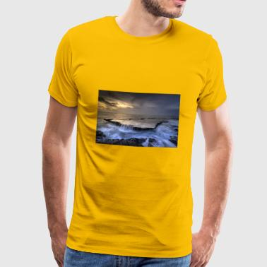 Sea of ​​cloud - Herre premium T-shirt